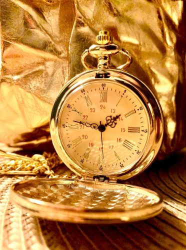 To My Son Quartz Pocket Chain Watch photo review
